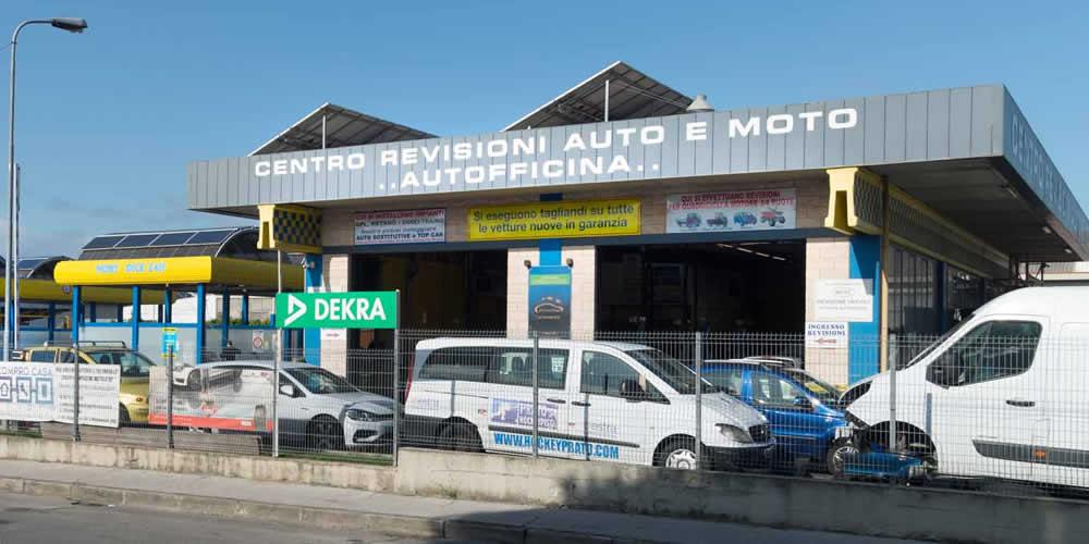 Centro revisioni a Montemurlo